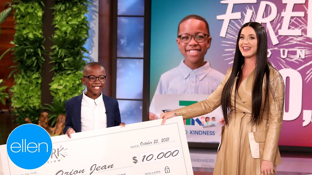 Download Katy Perry's Surprise for Kid Leading with Kindness