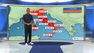 Meteo Italia: la piu intensa ondata di caldo dellestate