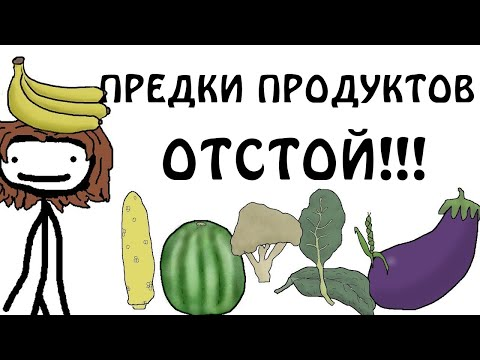 """""""Отстойные предки современных продуктов"""" - Академия Сэма О'Нэллы (Озвучка Broccoli)"""