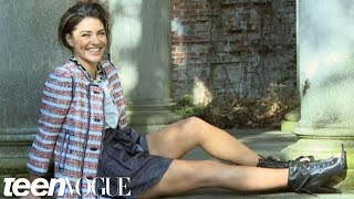 Jessica Szohr's Teen Vogue Cover Shoot Behind-the-Scenes Video