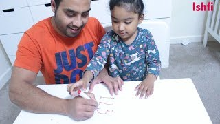 Ishfi Learn Numbers from 1-20 with Daddy
