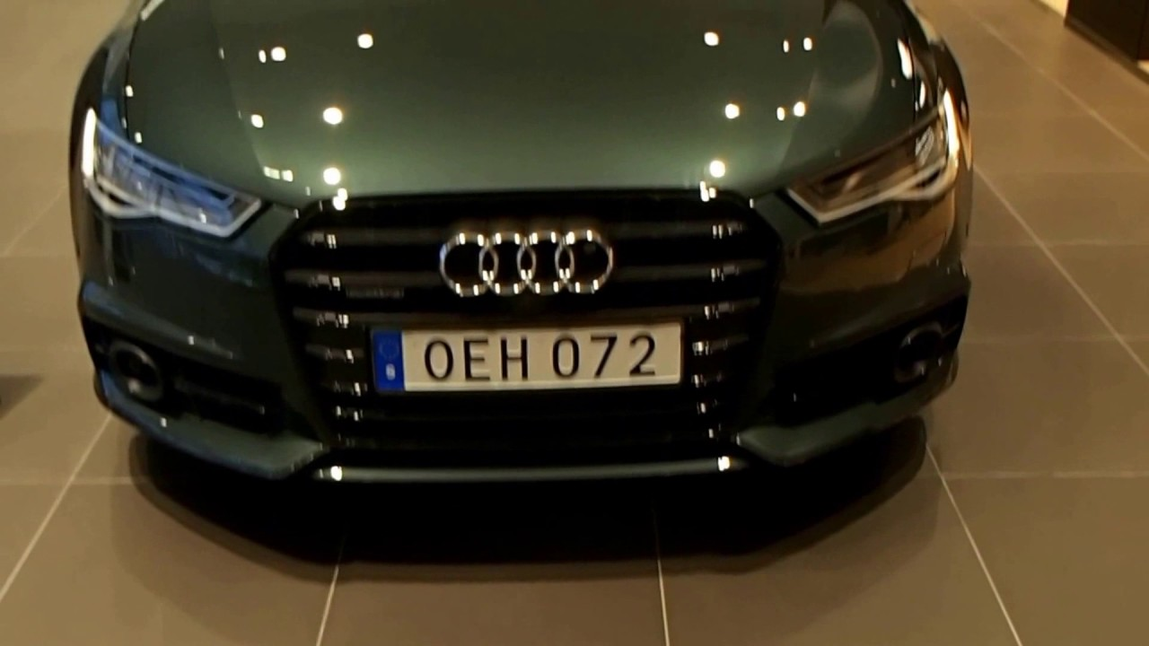 Audi A6 Competition Gotland Green Walkaround Youtube