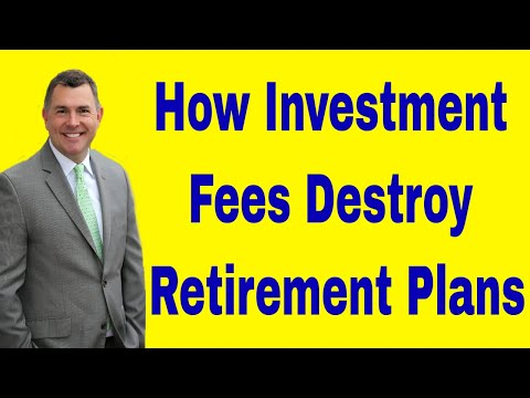 How Investment Fees Destroy Retirement Planning Projections