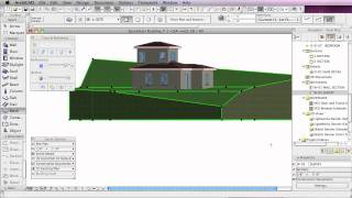 ArchiCAD Basic Training Lesson 28 | Site Modeling Basics | QuickStart Course Excerpt
