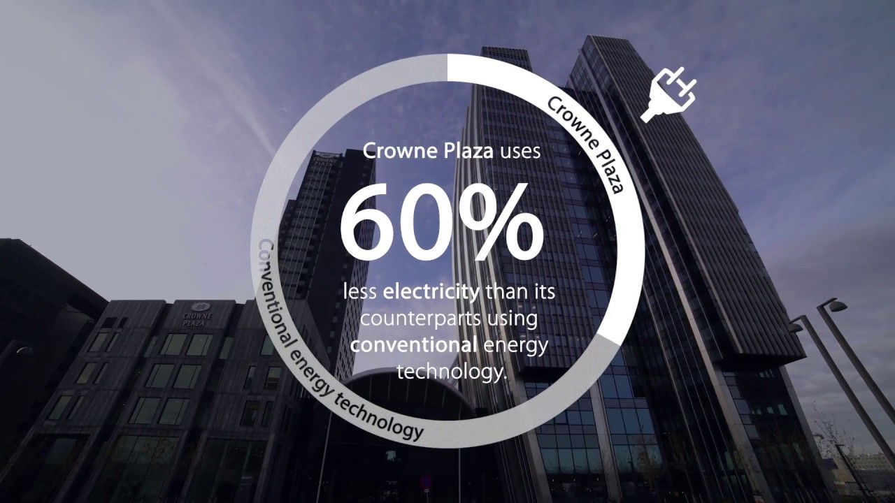 The Crowne Plaza hotel in Copenhagen comes close to carbon neutrality