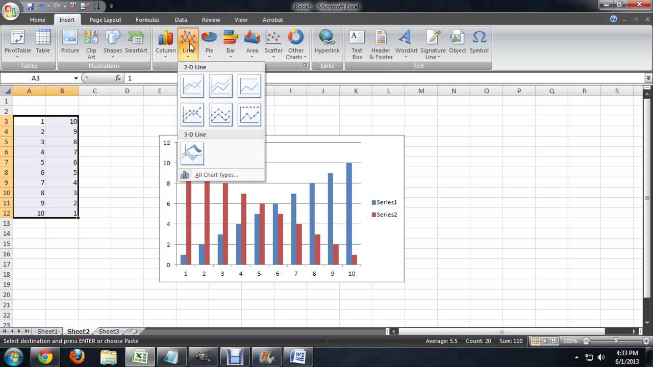 Can excel do multiple charts at once tech niche youtube can excel do multiple charts at once tech niche nvjuhfo Images