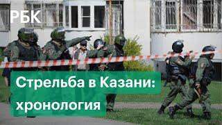 Полная хронология стрельбы в школе — что произошло в Казани