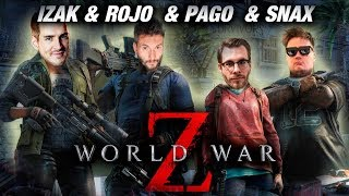 IZAK ROJO SNAX PAGO w World War Z