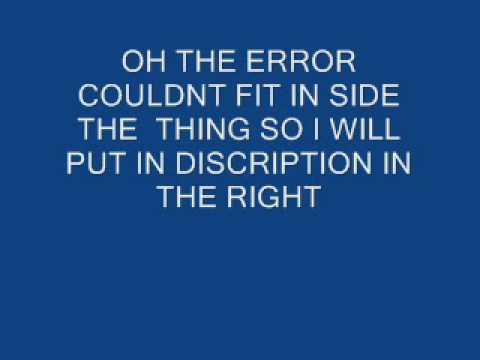 find the error