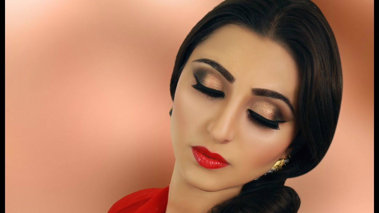 Neutral smokey eye makeup tutorial indian bridal asian neutral smokey eye makeup tutorial indian bridal asian pakistan arabic contemporary look youtube baditri Choice Image