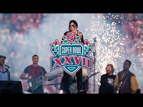 Michael Jackson - Super Bowl XXVII (Remastered) HQ