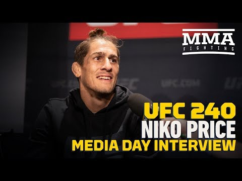 UFC 240: Niko Price On How He Consistently Finds Finishes: 'Don't Blink' - MMA Fighting