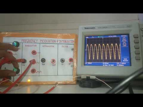 FREQUENCY MODULATION AND DEMODULATION