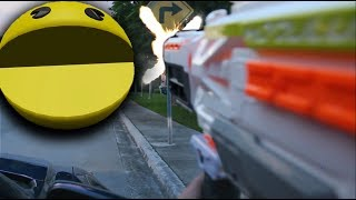 Pacman in Real Life! (Pac-man game Video)