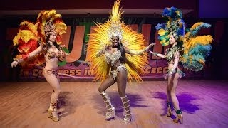 Sexy Brazilian Samba & Capoeira - WestZoukTIME 2014 (TV BABYLON)