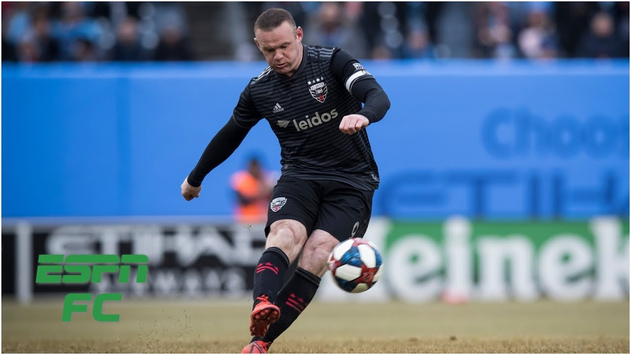 Wayne Rooney scores his first MLS hat trick   DC United vs. Real Salt Lake   MLS Highlights