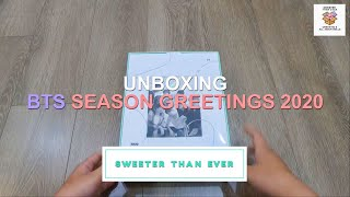 [UNBOXING][OFFICIAL] BTS 2020 SEASON GREETING