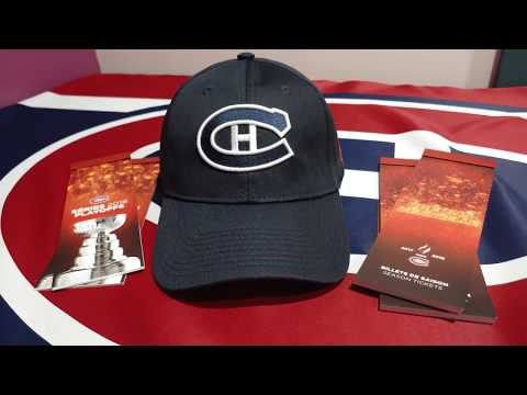 Montreal Canadiens 2017-2018 Season Tickets Unboxing