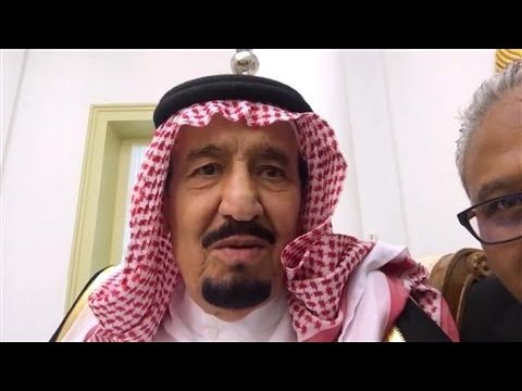Indonesian President Takes Video Selfie With Saudi King