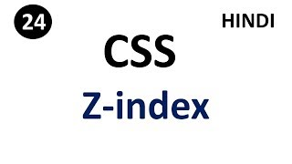 Layer or z-index property in css   Part -24    CSS Tutorial    Tech Talk Tricks