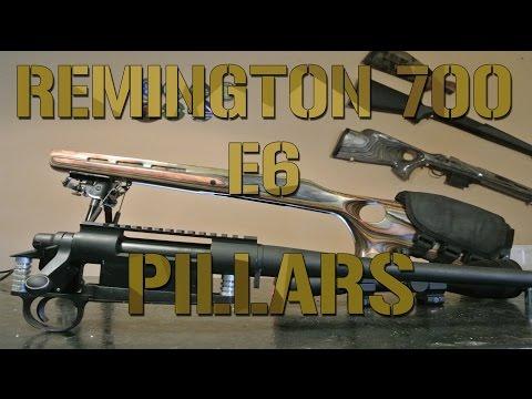 Remington 700 build: E6 Pillar bedding Boyds stock