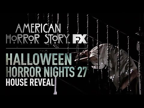 American Horror Story House Reveal | Halloween Horror Nights 27 ...