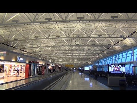 A Video Tour of John F. Kennedy International Airport: Terminal 8, Check-in Areas, and widebodies