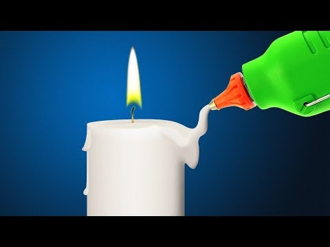 Как украсить свечу