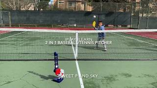 iPlay iLearn 2 in 1 Baseball/Tennis Pitcher