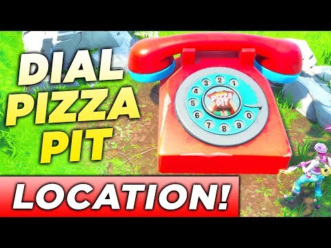 """""""Dial the Pizza Pit Number on the Big Telephone east of The Block"""" LOCATION FORTNITE CHALLENGE!"""