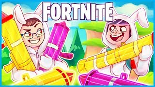 5 GUIDED MISSILE LAUNCHERS in ONE GAME of Fortnite: Battle Royale! (Fortnite Funny Moments & Fails)