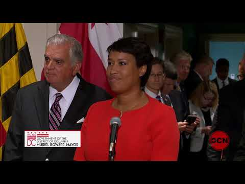 Mayor Bowser Attends Regional Meeting with Maryland and Virginia Governors, 8/28/2017