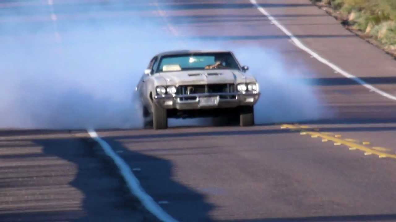 71 Buick Skylark GS GSX 455 Stage 1 Burnout.MP4 - YouTube