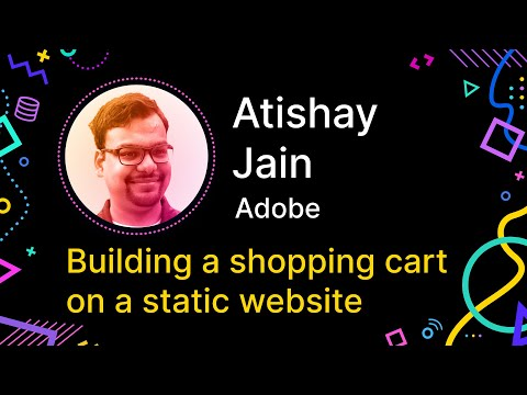 Building a shopping cart on a static website