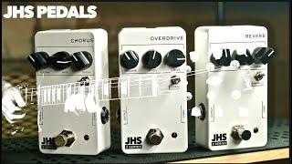 JHS Pedals 3 Series Overdrive Chorus Reverb