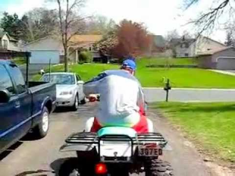 POLARIS TRAIL BOSS ATV 250 FOR SALE.flv