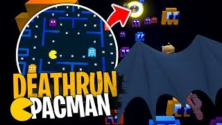 Deathrun difficile dans l'univers de PacMan sur Fortnite Créatif !