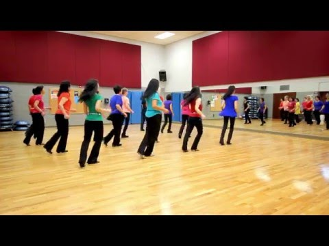 The Fighter - Line Dance (Dance & Teach in English & 中文)