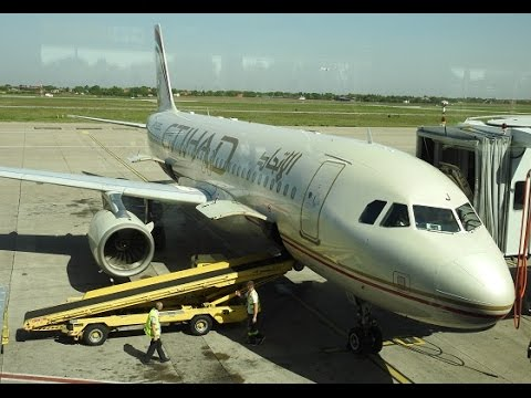 ETIHAD - From Abu Dhabi To The World - Belgrade Airport Takeoff Roll