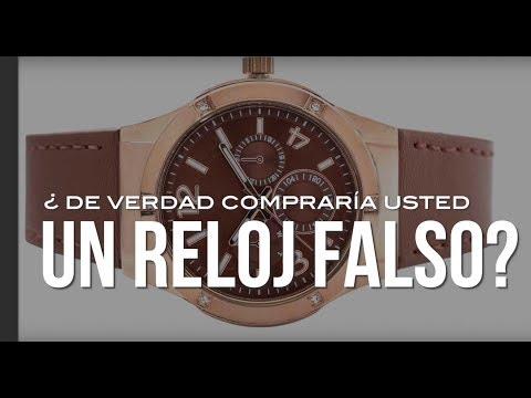 ¿De verdad compraría y usaría usted un reloj falso