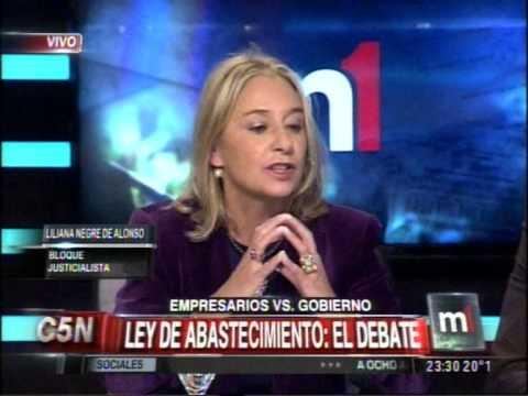 C5N - MINUTO UNO: LEY DE ABASTECIMIENTO, EL DEBATE