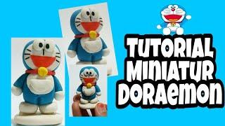 Tutorial Miniatur Doraemon | seni kerajinan tangan | handmade