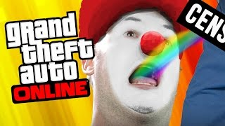 CLOWN PORN! [SUMO WRESTLE MODE] (GTA 5 Online)