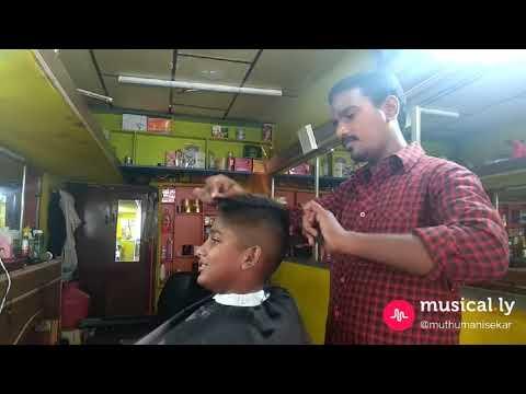Kallakurichi Angel Salon Muthu🔥 Fire🔥 Haircut Fire🔥