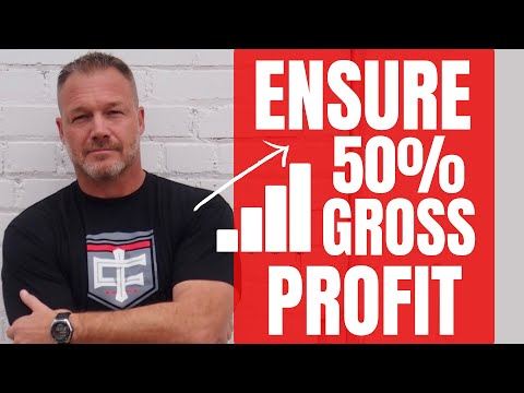 How to Estimate Construction Jobs to Ensure a 50% Gross Profit (Tom Screwed Up Look In Description)