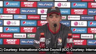 2015 WC PAK vs UAE: UAE skipper after losing to Pakistan