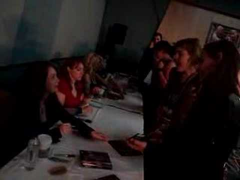 Paris Jefferson signing at Xena Convention London 2008!