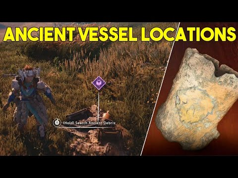 Horizon Zero Dawn All Ancient Vessel Location (How To Get All 12 Vessels)
