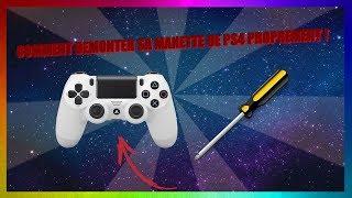 Video [TUTO] - COMMENT DEMONTER UNE MANETTE DE PS4 PROPREMENT ! download MP3, 3GP, MP4, WEBM, AVI, FLV Oktober 2018