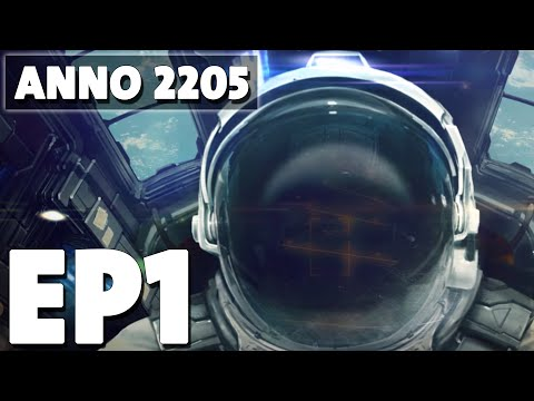 Let's Play Anno 2205 Episode 1 - Founding Negark Corp.! - Base Building Management Game
